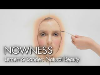 Watch 365 layers of makeup applied in one day in ''Natural Beauty'' by Lernert & Sander