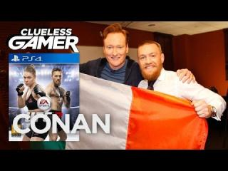 Clueless Gamer: ''UFC 2'' With Conor McGregor  - CONAN on TBS