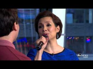 Lea Salonga and Brad Kane perform ''A Whole New World'' on Good Morning America