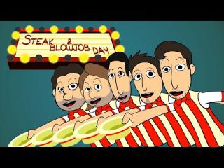 THE STEAK AND A BJ DAY SONG (Animated Music Video)