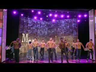 The ''Magic Mike Live'' Dancers Perform