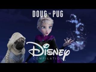 Doug the Pug Disney Compilation