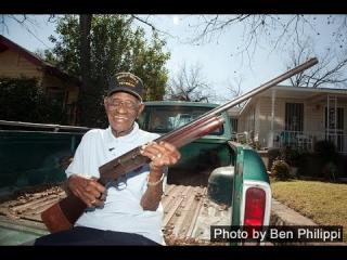 America''s oldest living Vet turns 109 and shows us his guns