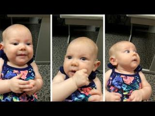 Deaf Baby Hear''s Mother''s Voice For First Time