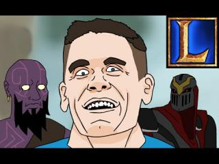John Cena Champion Spotlight (League of Legends Animation)