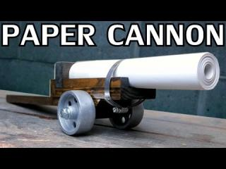 Building a Paper Cannon | Black Powder - NightHawkInLight