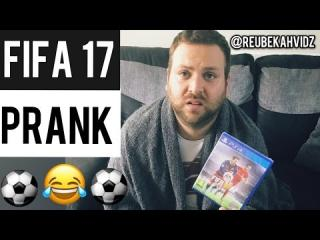 FIFA 17 Prank (I got him good!)