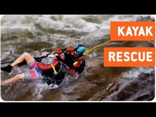 Rescuer Saves Injured Kayaker | Close Call