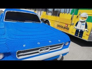 Building #BrickPony, a life-size LEGO® replica of the ''1964½'' Ford Mustang V8 coupe