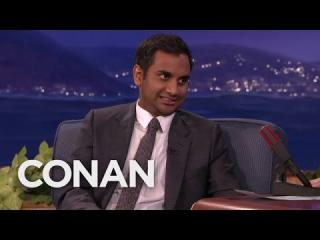 Aziz Ansari's Pork-Fueled Feud WIth His Parents  - CONAN on TBS