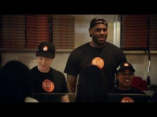 LeBron James Is Blaze Pizza''s Newest Team Member
