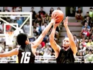 Steph Curry Blocked by 17 Year Old in Taiwan