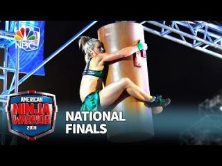 Jessie Graff at the National Finals: Stage 1 - American Ninja Warrior 2016