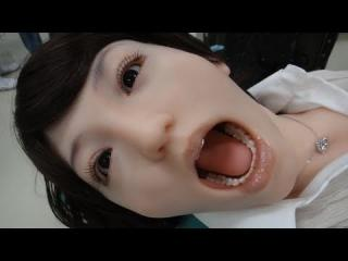 Ultra-realistic Dental Training Android Robot - Showa Hanako 2 #DigInfo