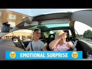 Emotional SURPRISE for my nan''s birthday