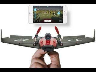 POWERUP FPV - Live Streaming Paper Airplane Drone via Google Cardboard
