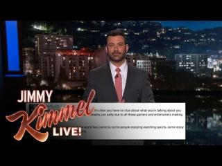 Video Game Watchers Are Mad at Jimmy Kimmel