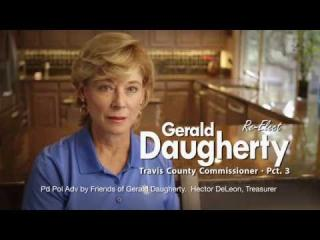 Gerald Daugherty Campaign: ''Please Re-Elect Gerald...Please!''