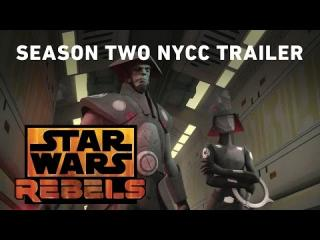 Star Wars Rebels Season Two NYCC 2015 Trailer (Official)