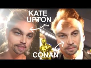 Celebrities Swap Faces with Leonardo DiCaprio After Oscar Win | Vanity Fair Oscar Party 2016