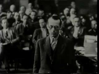 Nazi resistors on trial. Imagine YOU standing there in front of THIS judge.