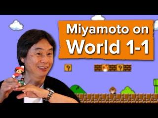 Miyamoto on World 1-1: How Nintendo made Mario''s most iconic level