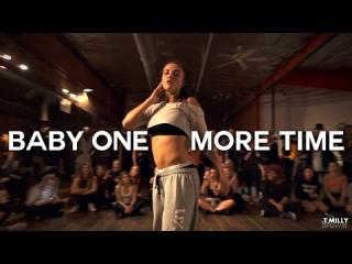 Jade Chynoweth performs ''Baby One More Time'' Choreography by Yanis Marshall | Filmed by @TimMilgram
