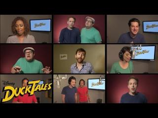 All-New ''DuckTales'' Cast Sings Original Theme Song | Disney XD